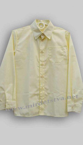 Рубашка для мальчика Balu М-3000 бежевый