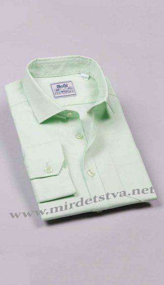Рубашка для мальчика BoGi 001.001.0252.35 мята