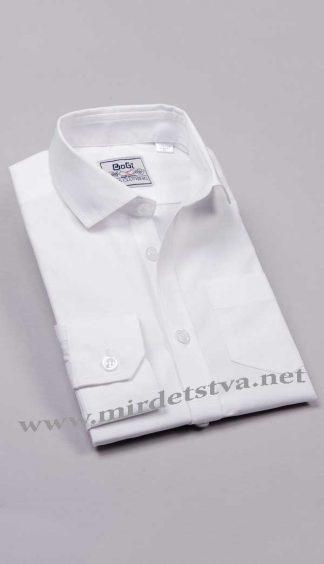 Рубашка для мальчика BoGi 001.001.0252.01 белая