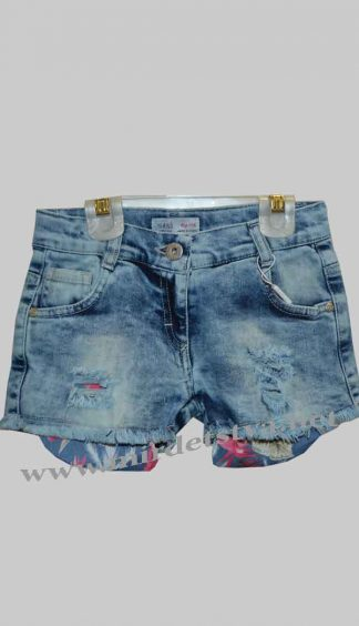 Шорты джинсовые для девочки Sani 8107