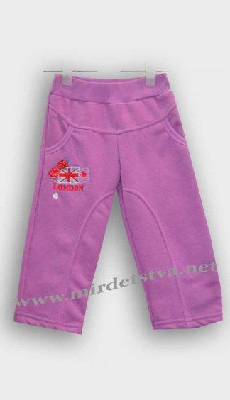Штаны для девочки Бемби ШР150 утепленные