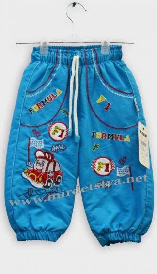 Штаны для мальчика утепленные Trimex 120919 голубые