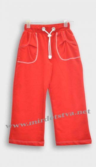 Штаны спортивные для девочки Вулик Б-031 красные