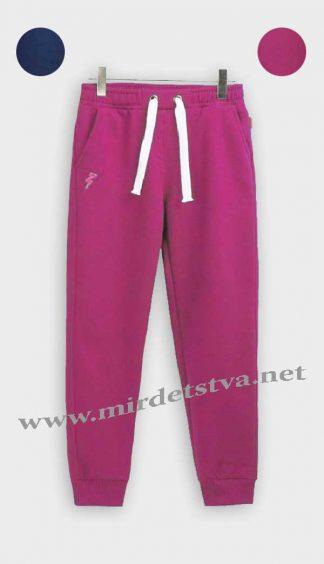 Штаны утепленные для девочки Бемби ШР433 малиновые фото