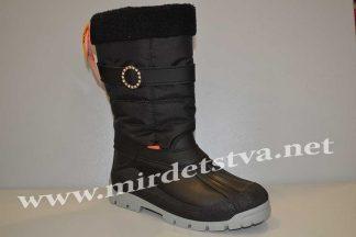 Подростковые сапоги Demar Anette-M C 1313 для девочки черные
