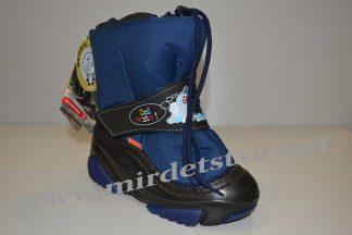 Сапоги зимние для мальчика Demar Snowmen C 4010 синие