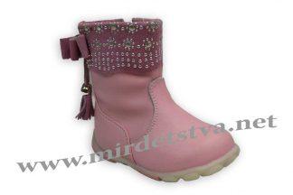 Детские сапоги для девочки Scarlett A415 розовые