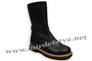 Сапоги для девочки Tops ЗД-15_н черные