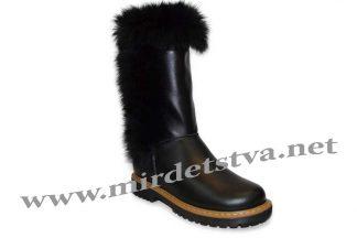 Сапоги для девочки Tops ЗДК-9_н черные