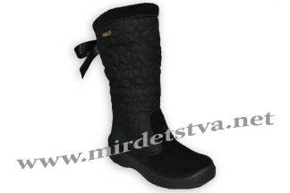 Сапоги зимние для девочки Floare 2424560530 черные