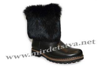 Сапоги зимние для девочки Tops КР-20-4 черные
