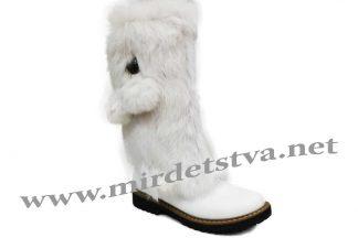Сапоги зимние для девочки Tops КР-65-4 белые