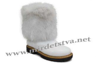 Сапоги зимние для девочки Tops ЗДК-20_н белые