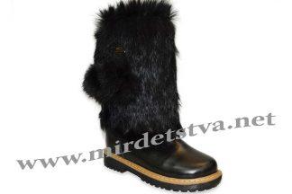 Сапоги зимние для девочки Tops ЗДК-65/н черные