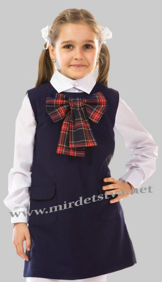 9e979ea727d Сарафан школьный для девочки KidsCouture 7171811118