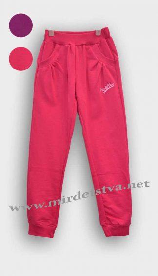 Спортивные штаны для девочки Бемби ШР269 малиновые фото