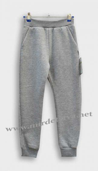 Спортивные штаны утепленные для мальчика Robinzone ШТ98 серые