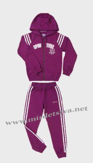 Спортивный костюм для девочки Бемби КС440 сиреневый