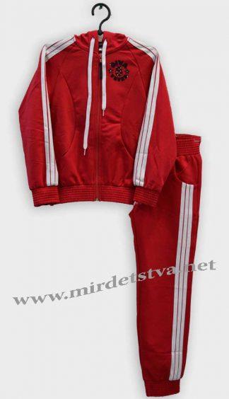 Спортивный костюм для девочки Vivaton Виола красный