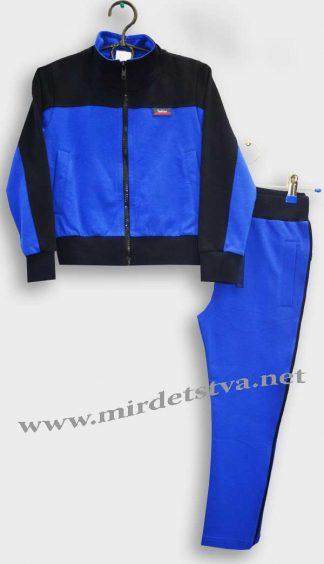 Спортивный костюм для мальчика Овен 15К-114-2 синего цвета