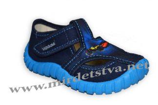 Тапочки для мальчика Viggami Tubis druk синие
