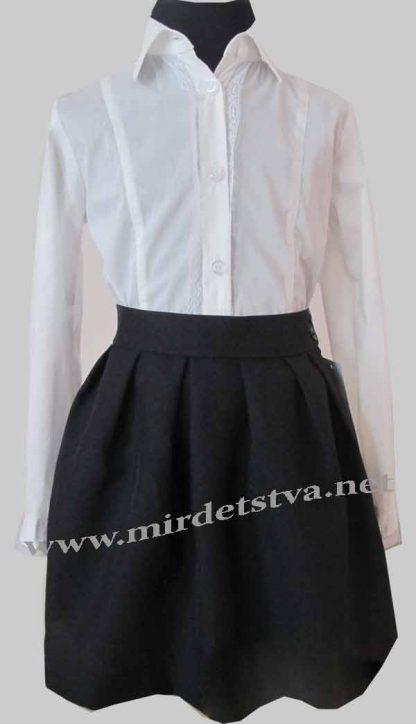 Юбка школьная для девочки Balu Д-701 черная