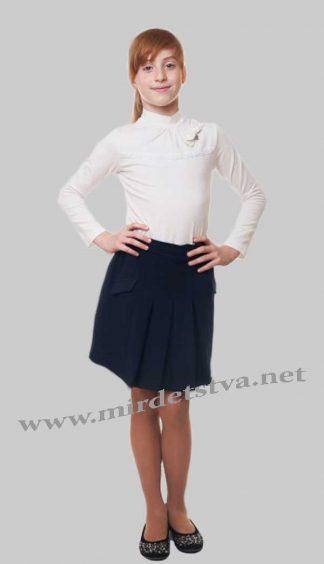 Юбка школьная для девочки KidsCouture 7171491133 трикотажная