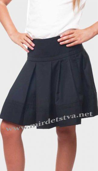 Юбка школьная для девочки KidsCouture 7171530240 черная
