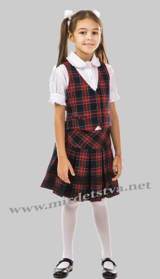 Юбка школьная для девочки KidsCouture 7171963443