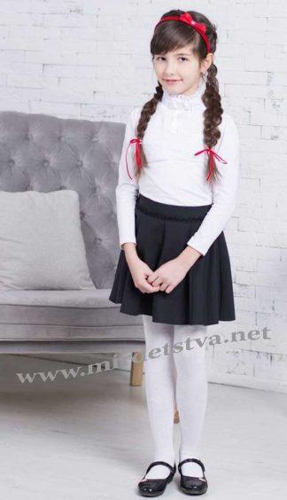 Юбка школьная для девочки Новая форма Fiona черная