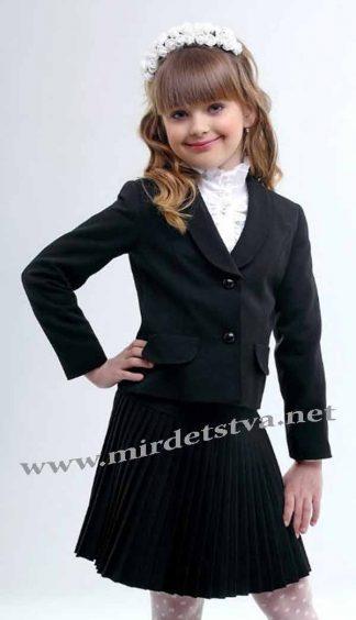 Жакет школьный для девочки Lukas 3201 черный